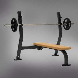 10820 Banc développé couché bench press large ligne FITNESS 2000 METALSPORT