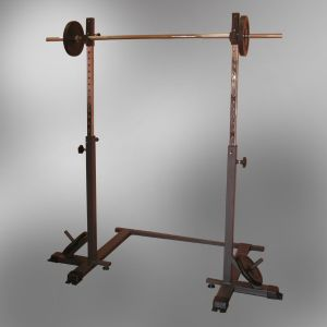 HF402 SUPPORT SQUAT MOBILE POUR DEVELOPPE COUCHE INCLINE BENCH PRESS