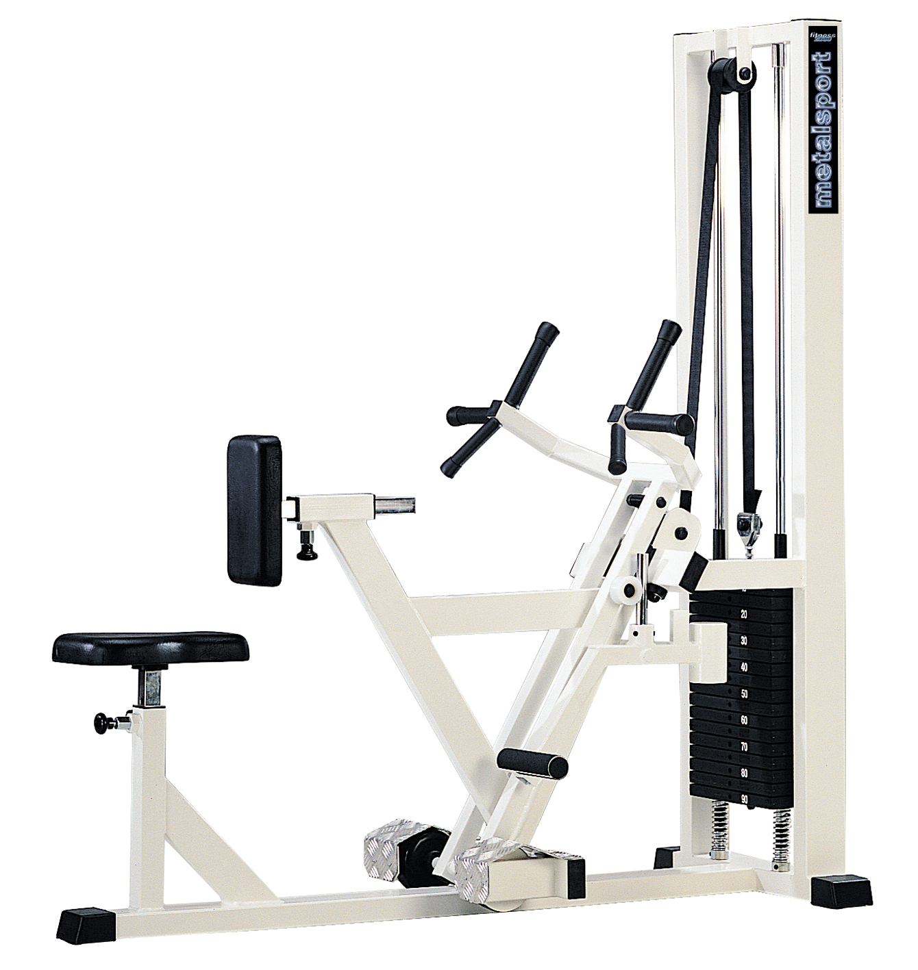 station de musculation 3220 rowing machine dorsaux 2010 metalsport. Black Bedroom Furniture Sets. Home Design Ideas