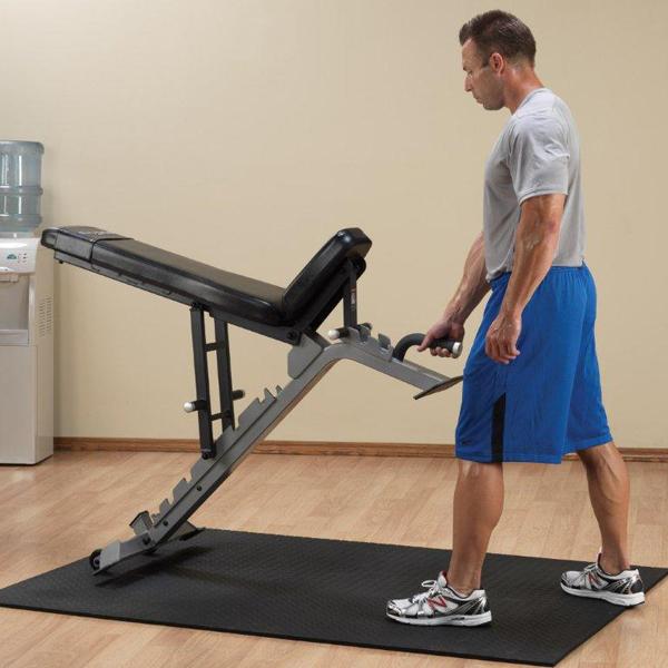 Banc musculation réglable multi positions, plat, incliné, décliné on