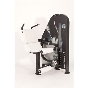 CH50 ABDOMINAL CRUNCH MACHINE CHROMO 2.0 METALSPORT