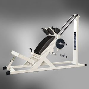 6420 B HACK SQUAT MACHINE charge manuelle 51mm FITNESS 2000 METALSPORT