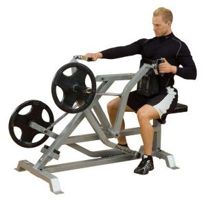 Banc rameur assis rowing Pro Leverage SEATED ROW Bodysolid LVSR