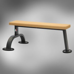 11620 Banc droit plat simple FLAT BENCH FITNESS 2000 METALSPORT