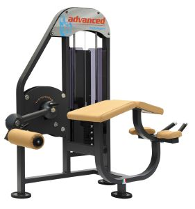4204 Machine musculation Leg curl ischio jambiers position couchée