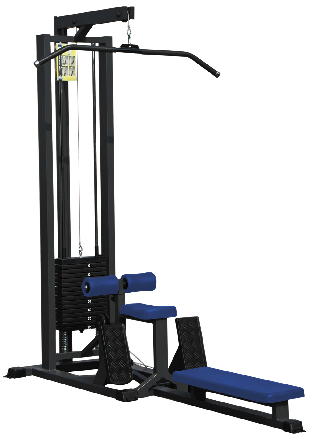 2020c lat pulley machine carter plexi metalsport. Black Bedroom Furniture Sets. Home Design Ideas